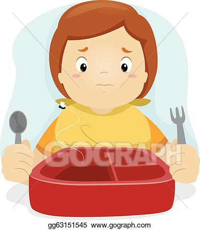 Lunchbox clipart kid. Vector disappointed illustration