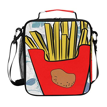Lunchbox clipart luch. Amazon com french fries