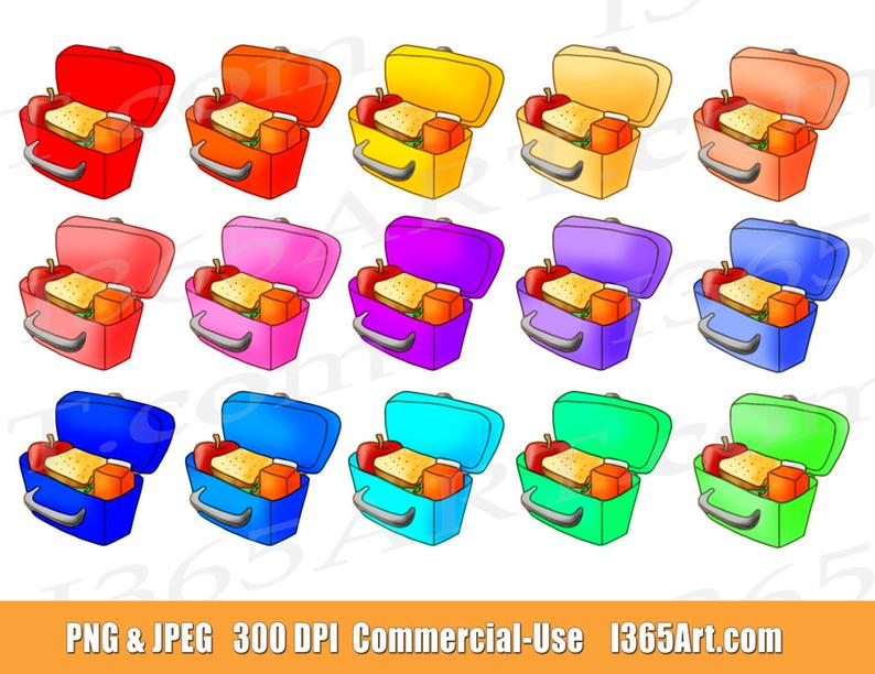 off box clip. Lunchbox clipart lunch hour