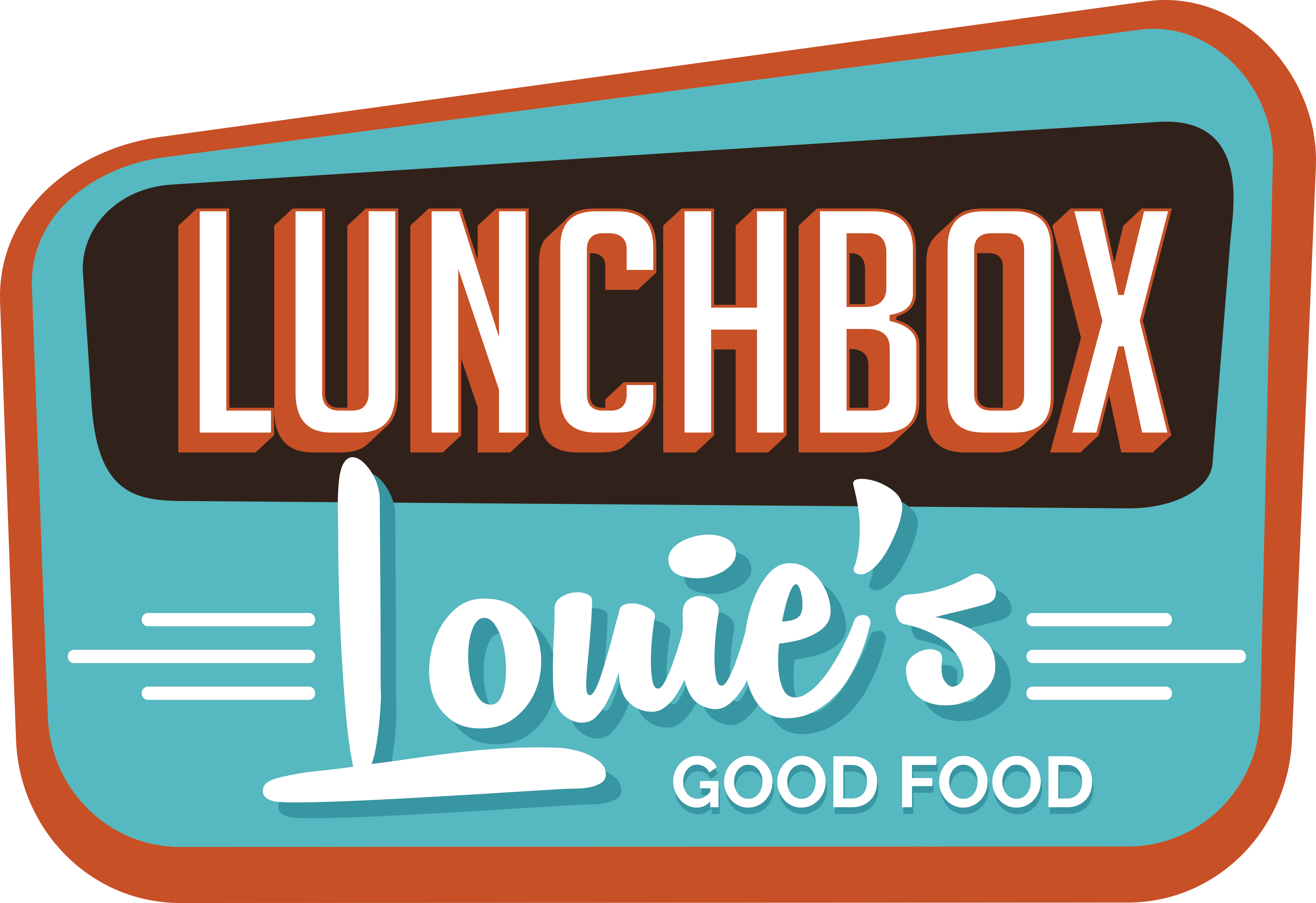 Lunchbox clipart lunch hour. Louie s