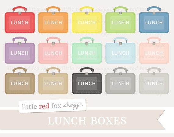 Box clip art vintage. Lunchbox clipart lunch item