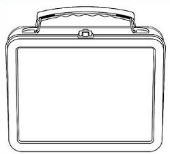 Lunchbox clipart outline. Free cliparts download clip