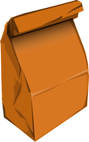 Brown lunch free download. Lunchbox clipart paper bag