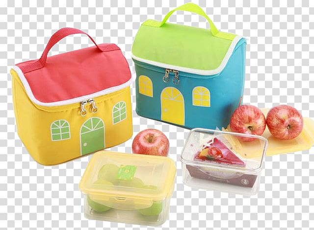 Lunchbox clipart plastic bag. Bento thermal insulation lunch
