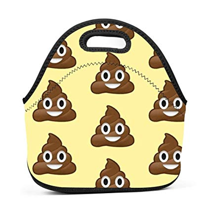Amazon com nopofjiobr oubafun. Lunchbox clipart poop bag