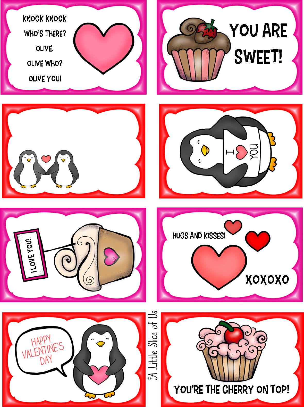 Free printable valentine s. Lunchbox clipart red
