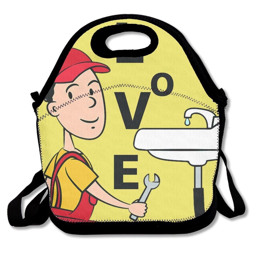 Amazon com love plumber. Lunchbox clipart school job