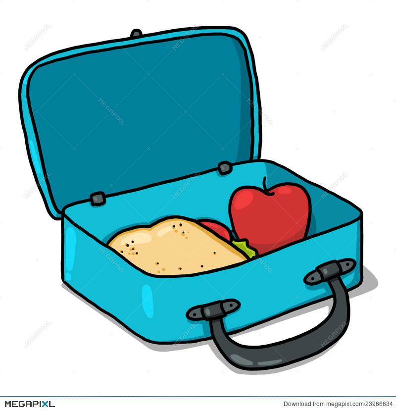 Lunchbox clipart snack box. Lunch illustration megapixl
