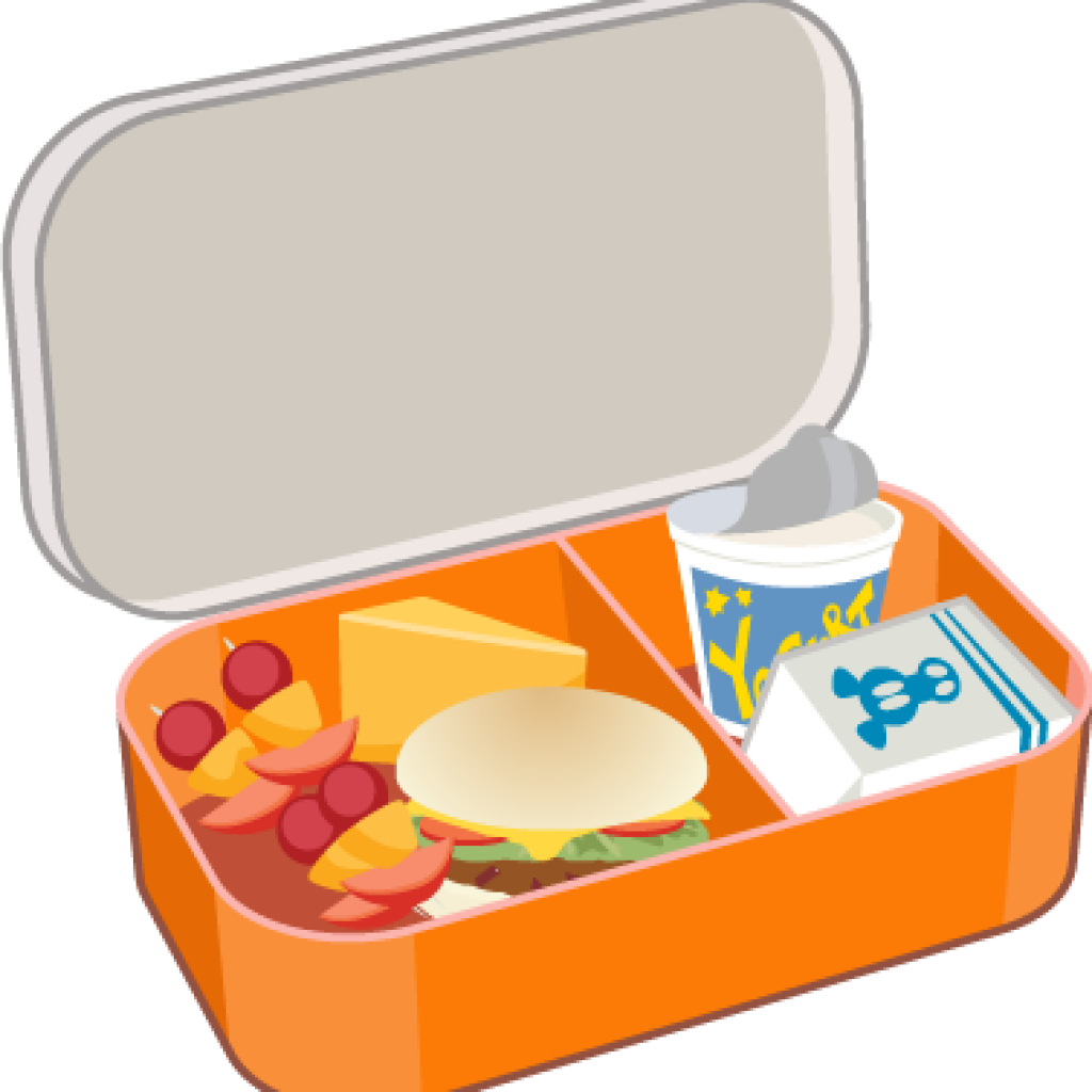 Lunchbox clipart student lunch. Box cupcake hatenylo com