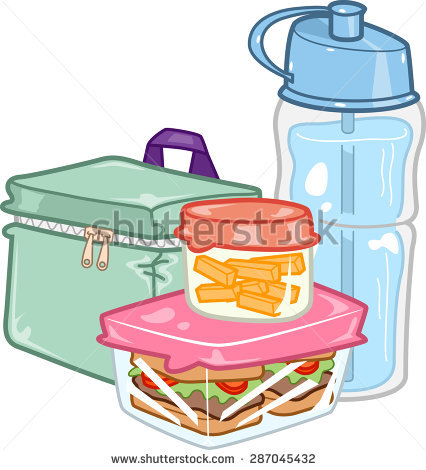 Lunchbox clipart table monitor. Lunch box free download