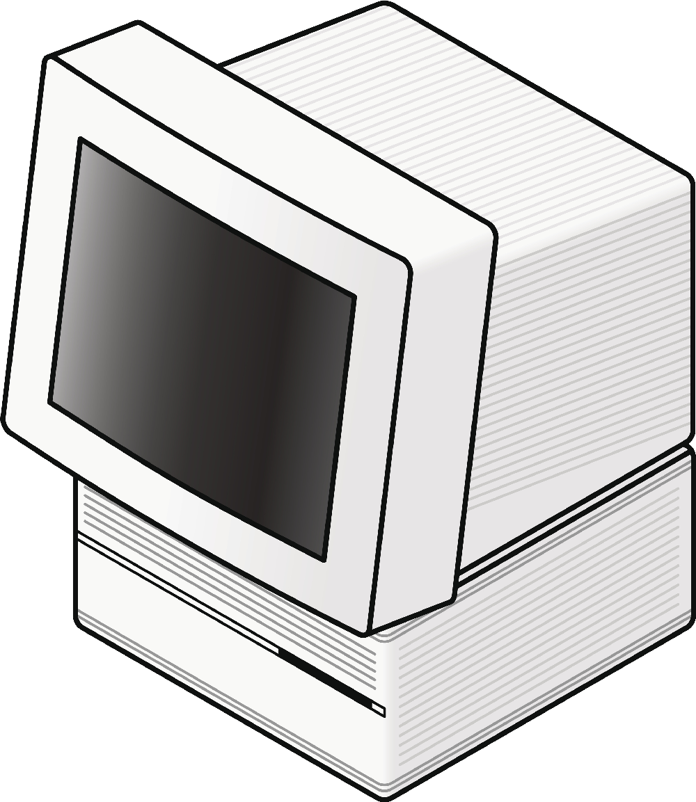 Lunchbox clipart table monitor. Whatever happened to the