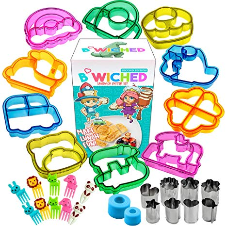 Lunchbox clipart toddler lunch. Sandwich cutters for kids