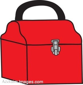 lunchbox clipart tool box