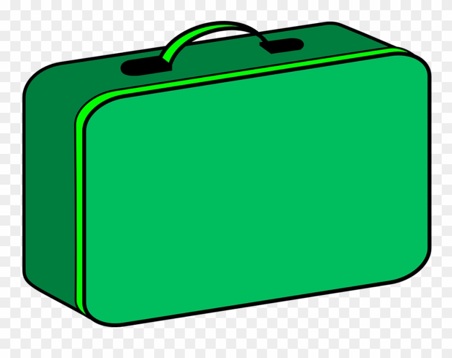 Lunch box green cartoon. Lunchbox clipart transparent background