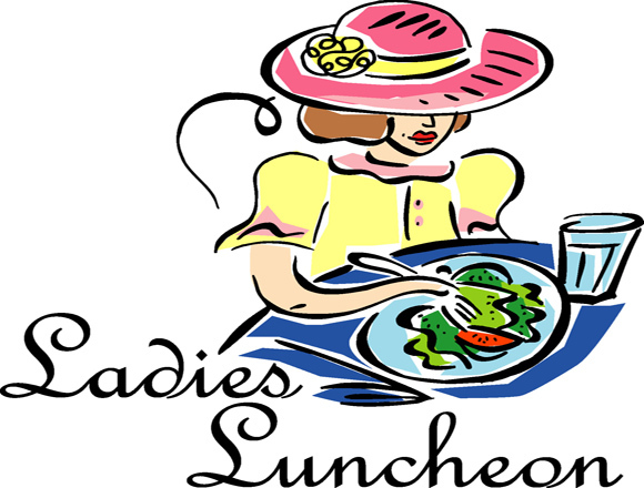Ladies christ church parish. Luncheon clipart