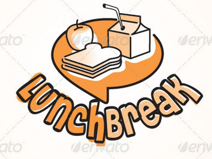 Break clipart work lunch.  luxury luncheon free