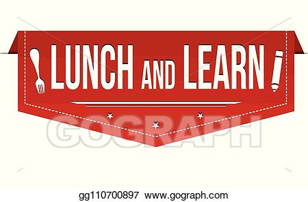 Luncheon clipart banner. Vector art lunch and