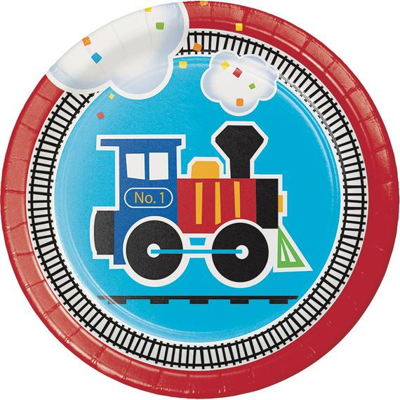 All aboard plates train. Luncheon clipart bring a plate