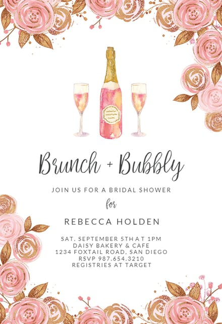 Brunch party templates free. Luncheon clipart lunch invitation