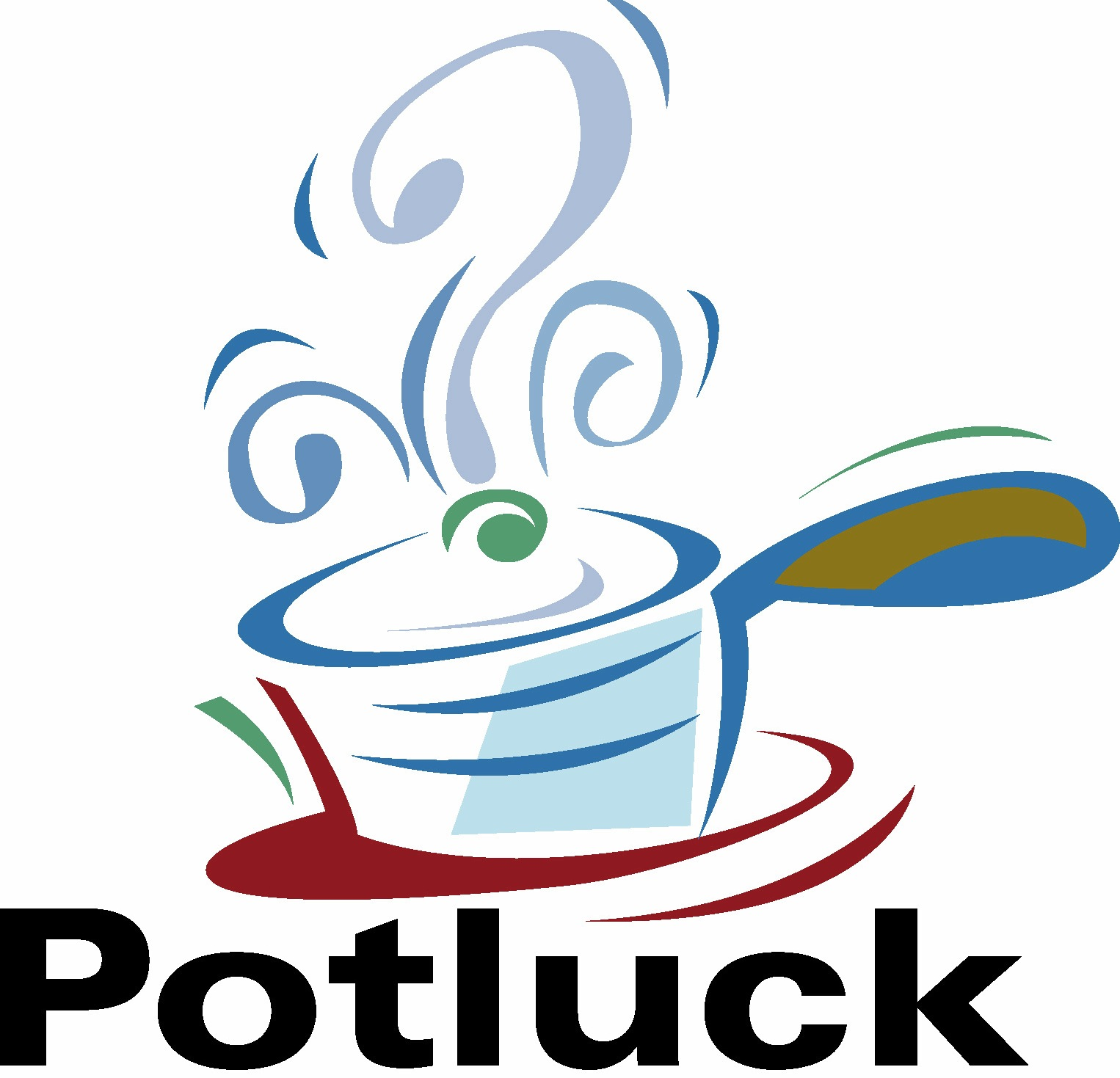 Potluck . Luncheon clipart lunch order