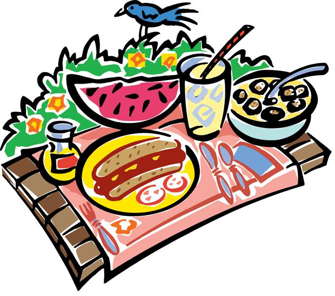 Cliparts free download best. Luncheon clipart potluck picnic