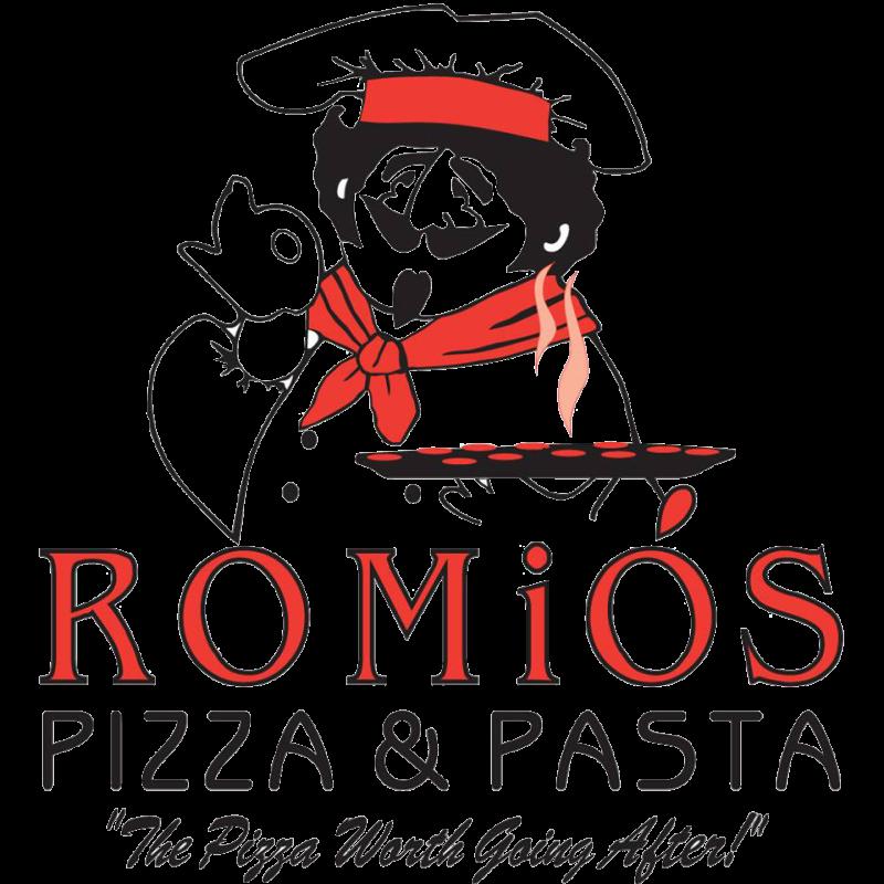 Romio s pizza pasta. Luncheon clipart spaghetti