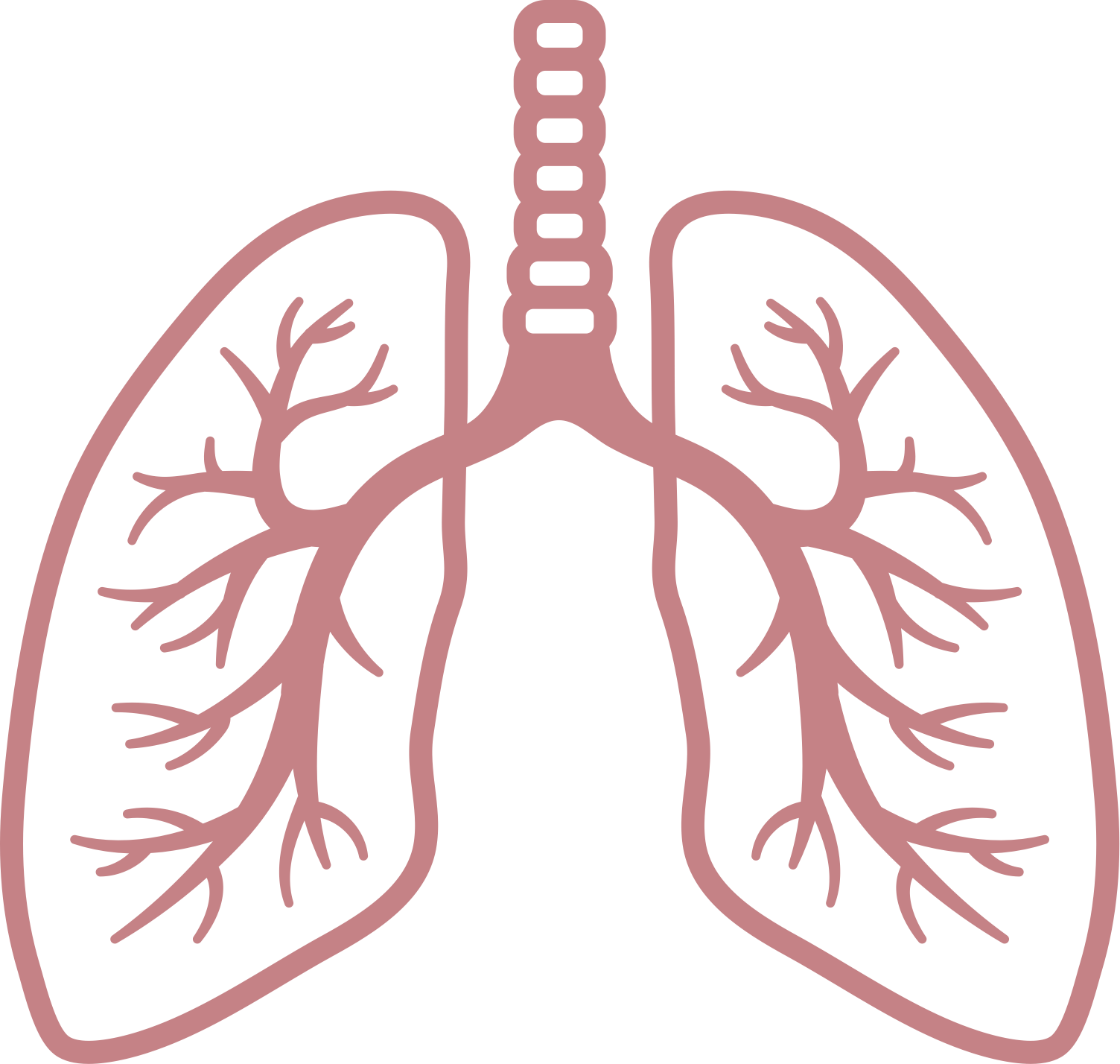 lungs clipart breathing rate