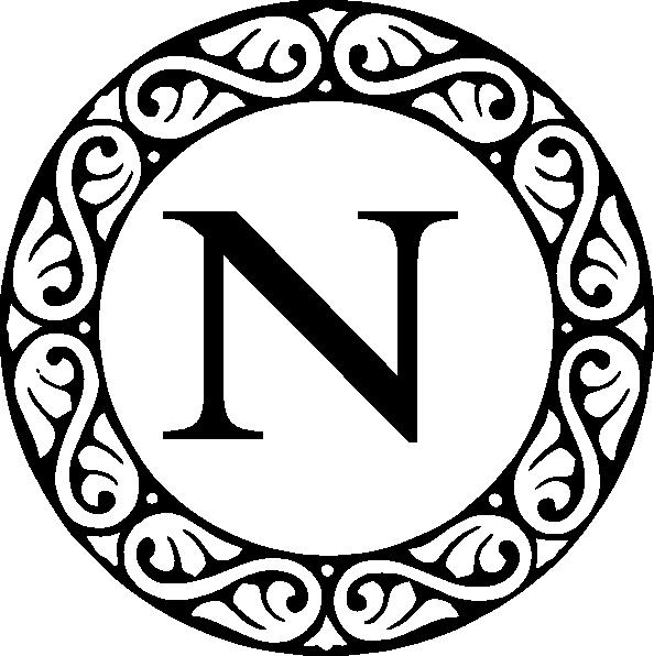 Letter a clip art. M clipart monogram