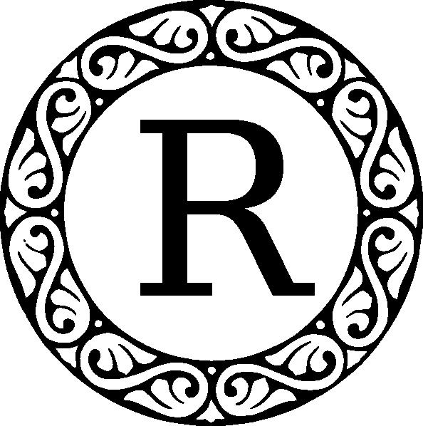 Letter p clip art. M clipart monogram