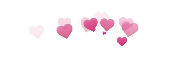 Avatan plus photoboth image. Macbook hearts png