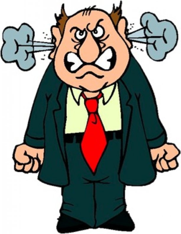collection of someone. Angry clipart angry man