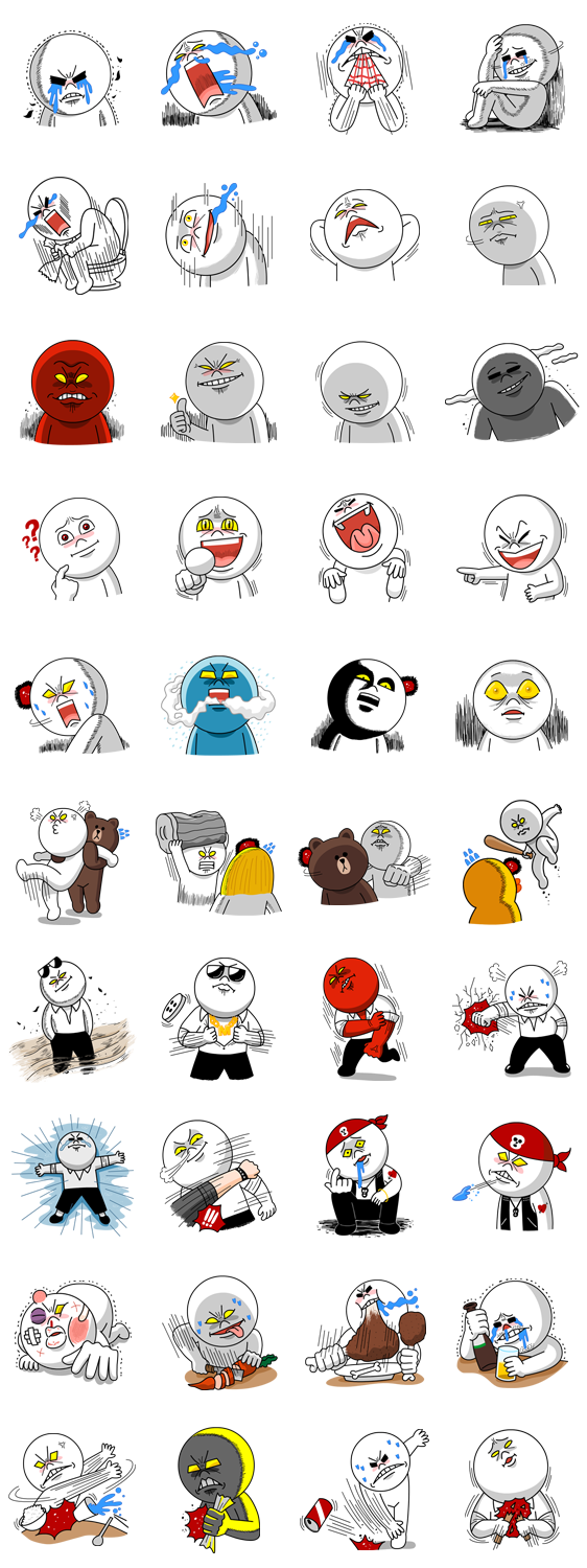Mad clipart angry employee.  moon edition by