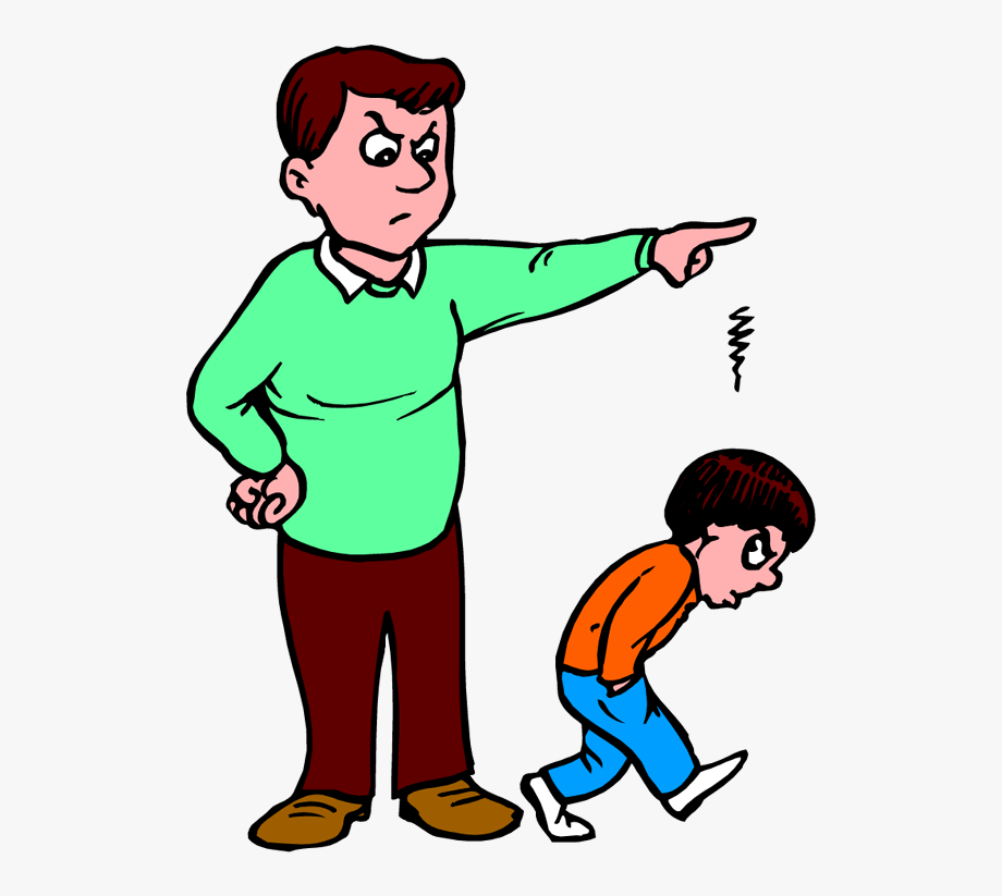 Fail kid grounded free. Parent clipart angry parent