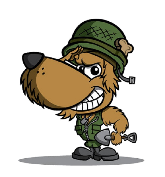 Mod alpha commando dog. Mad clipart colonist