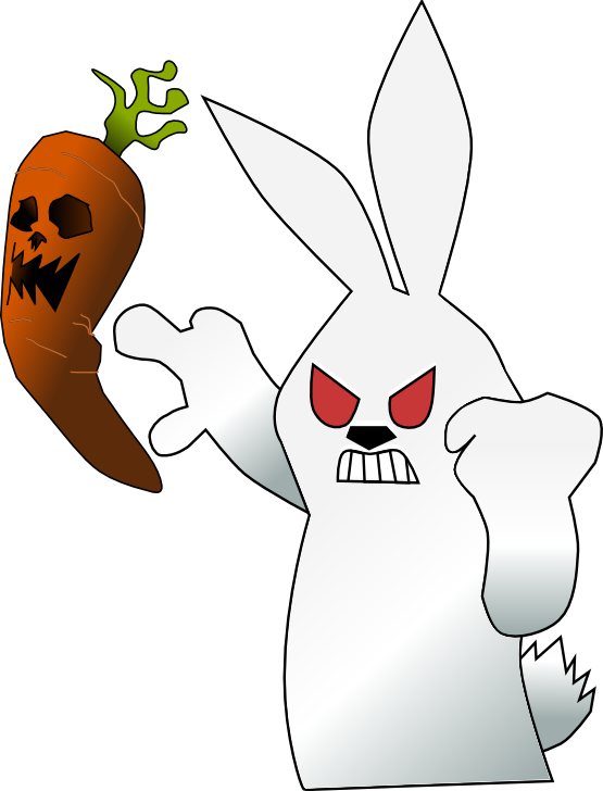 Clipartist net clip art. Mad clipart easter bunny