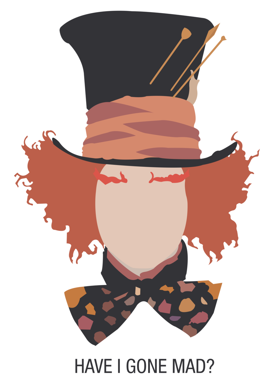 Mad clipart indignation. The hatter a day