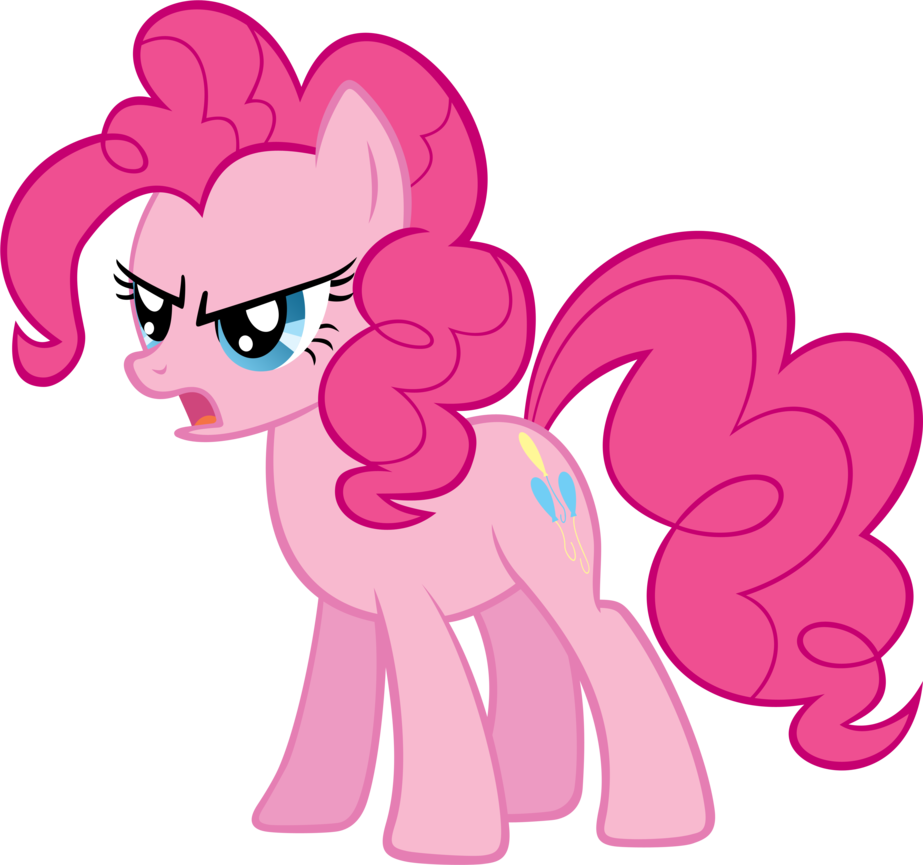 Pinkie is angry by. Pie clipart pie baking