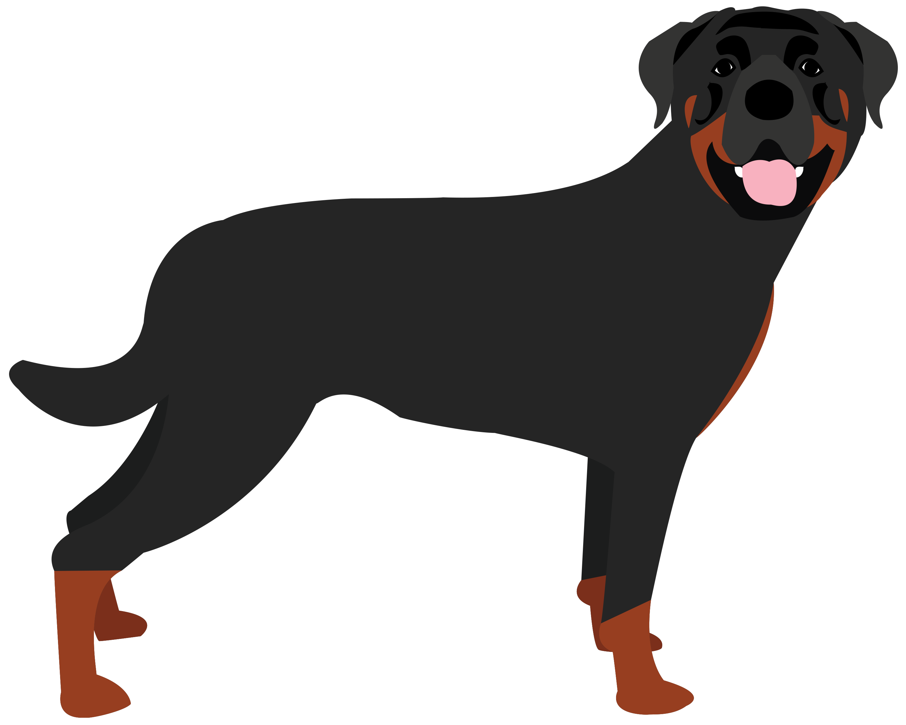 Mad clipart rottweiler.