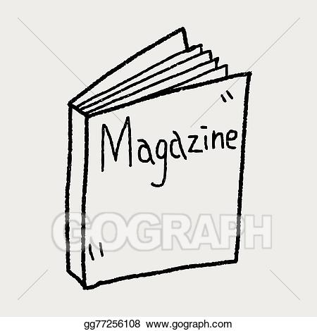 magazine clipart drawing