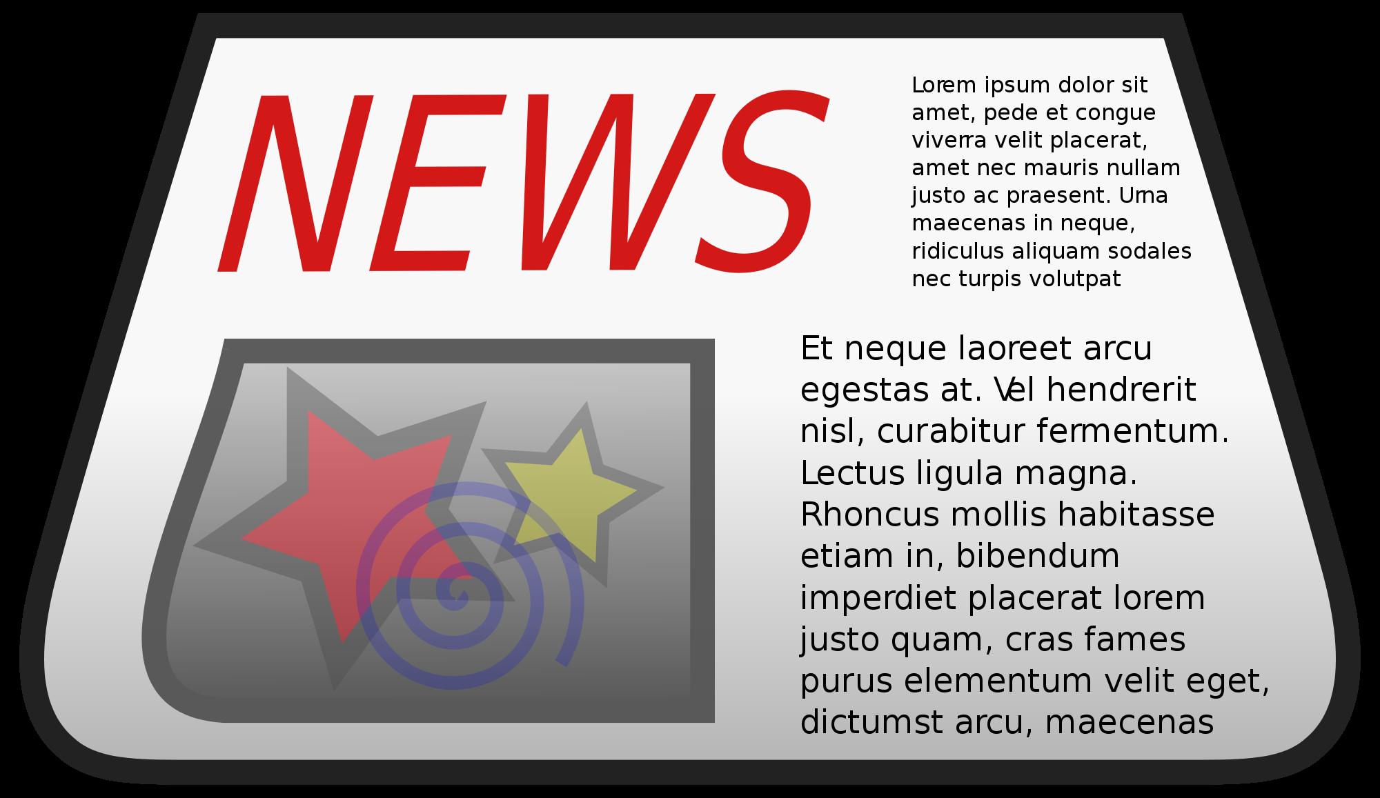 newspaper clipart newspaper magazine