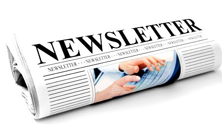 Newsletter clipart publication. Featured content valley view