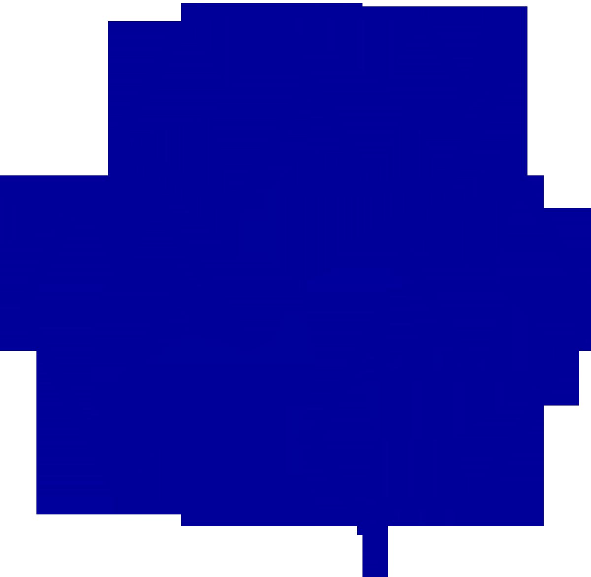 Dark blue universal symbol. Magazine clipart recycling