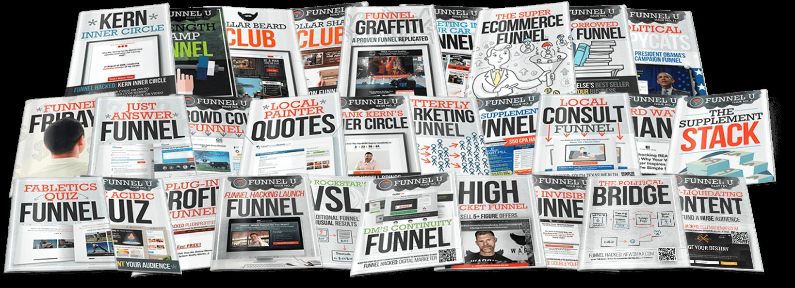 Funnel university get your. Magazine clipart tabloid