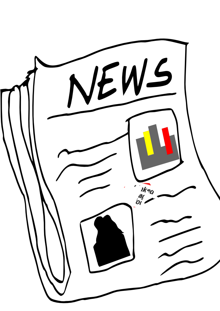 collection of transparent. Newspaper clipart animated