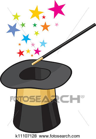 Magic clipart. Hat clip art of