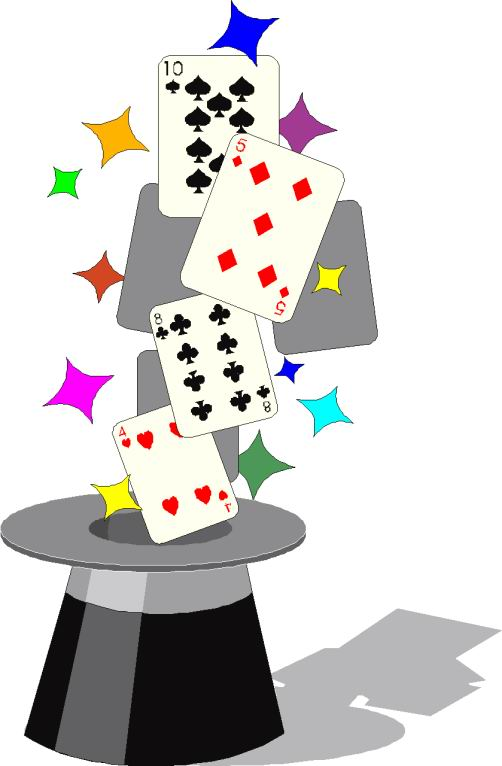 Tricks clip art entertainment. Magic clipart
