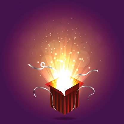 Illustration premium clipartlogo com. Magic clipart magic box