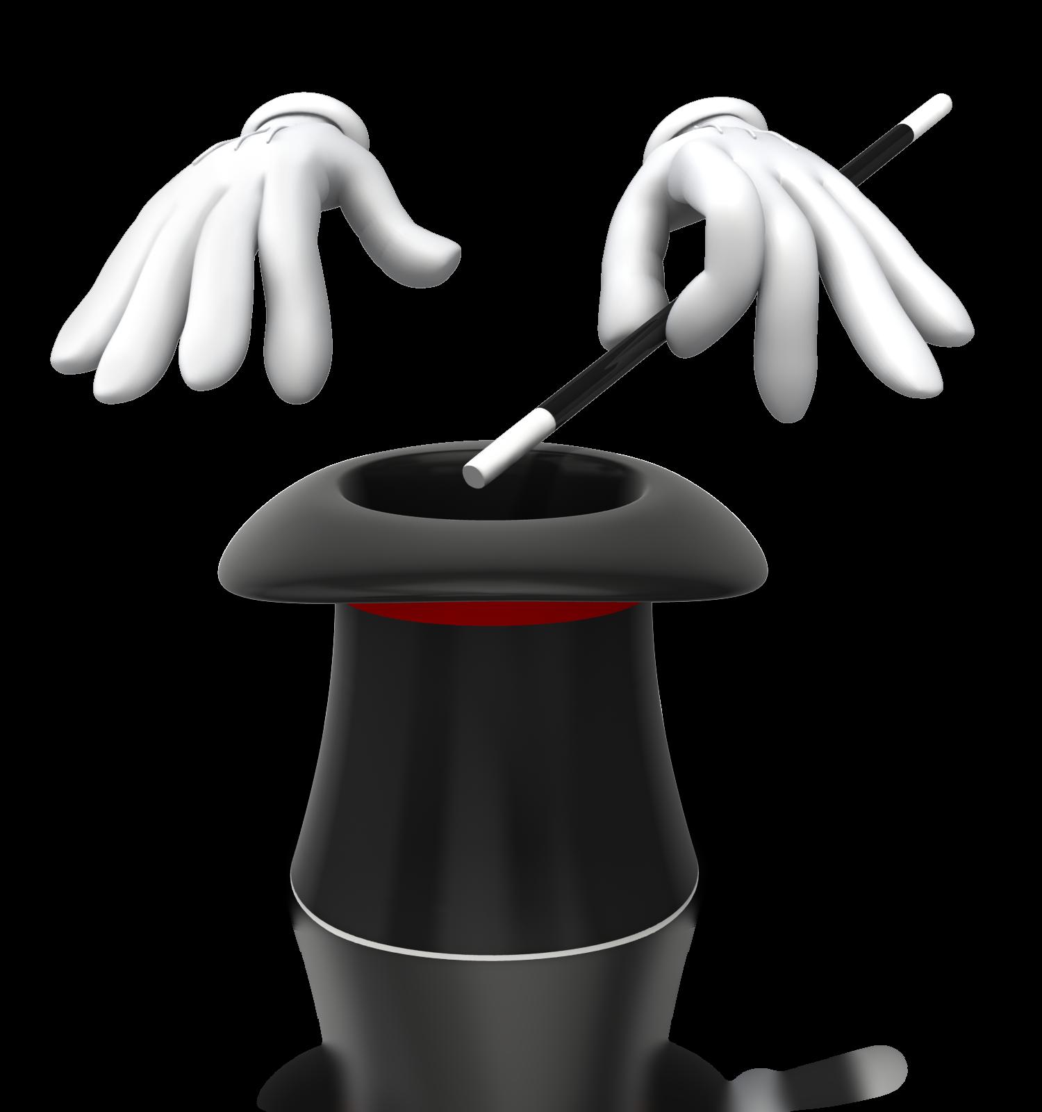 Hat png transparent images. Magic clipart magic hand
