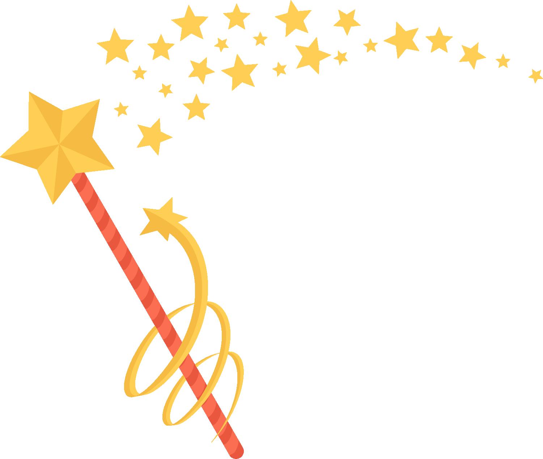 Magic clipart magic hand. Wand painted yellow star