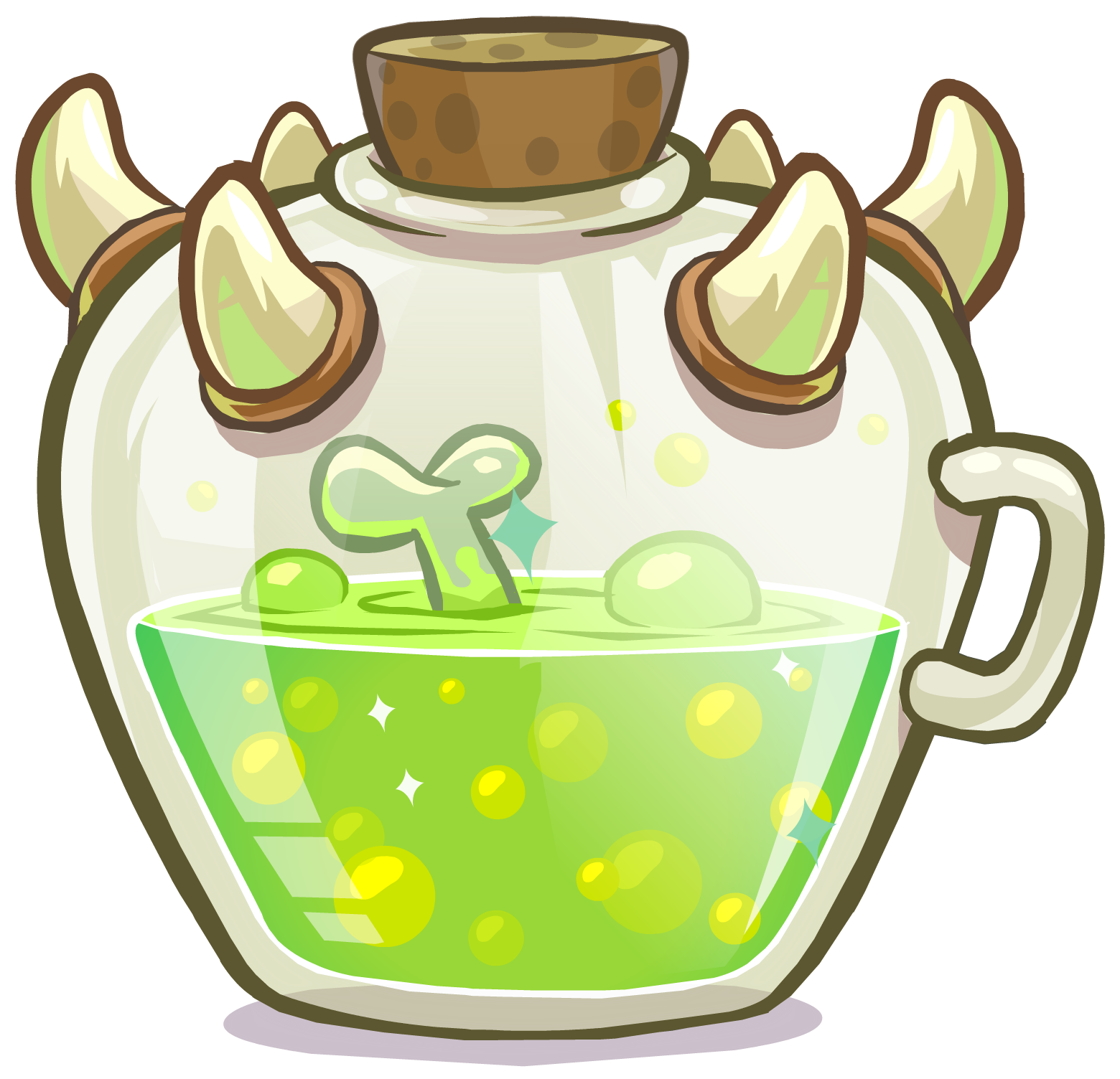 Image potions orge size. September clipart medieval food